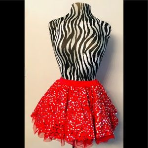 Costume skirt perfect for cha-cha in grease